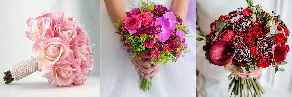 Шикарный букет свадебный