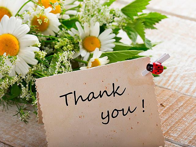 Хотите выразить благодарность: дарите цветы!
